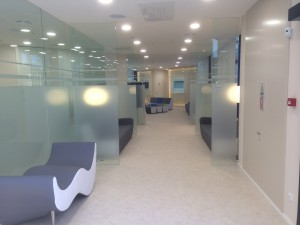 sala de espera pasillo