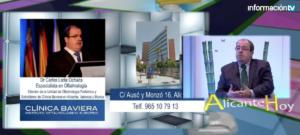 Entrevista al Dr Carlos Laria. Especialista en Oftalmología pediátrica y estrabismos